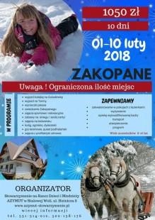 Zakopane ferie 2018 Copy